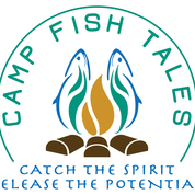 Camp Fish Tales logo